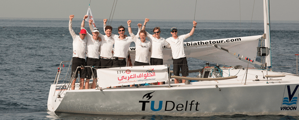 Team TU Delft wins leg 2