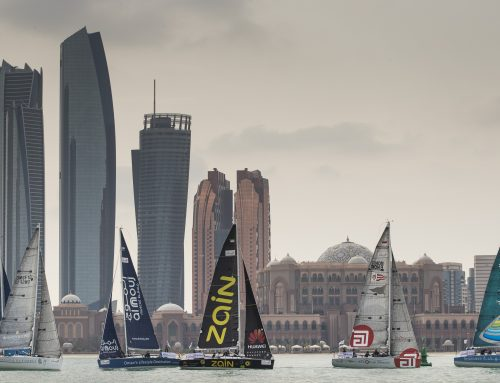 Rival teams tied at the top in penultimate EFG Sailing Arabia – The Tour stage