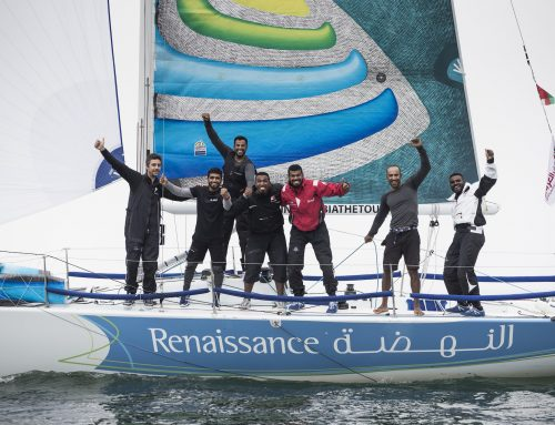 Oman's Team Renaissance crowned Leg 1 kings in EFG Sailing Arabia – The Tour's first prize-giving