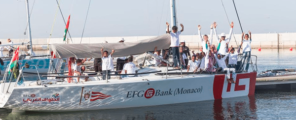 EFG Bank and Oman Sail introduce children to sailing