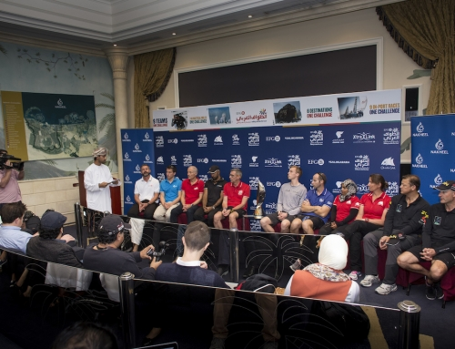 Nine sailing teams get set for EFG Sailing Arabia – The Tour in Palm Jumeirah Dubai