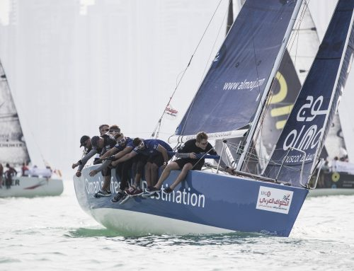 EFG Sailing Arabia – The Tour leaders prove formidable in Doha in-port battle