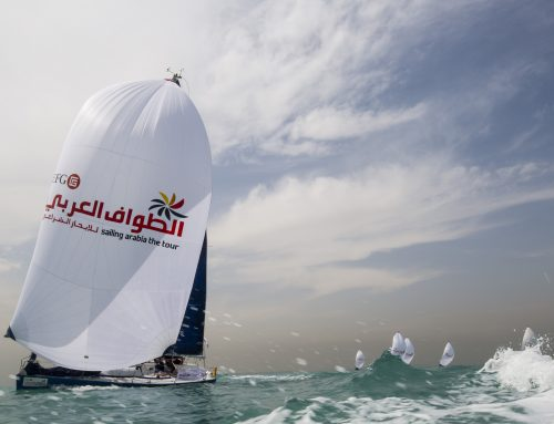 EFG Sailing Arabia – The Tour title hangs in the balance after crucial Leg 5 win for Team Al Mouj Muscat