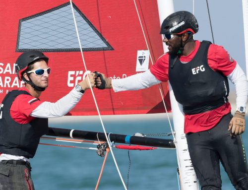 Bumper day for EFG Sailing Arabia – The Tour as Masirah Island makes debut