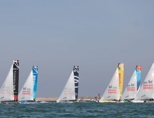 Vivacar dominate Masirah stadium racing as EFG Sailing Arabia – The Tour adventure continues