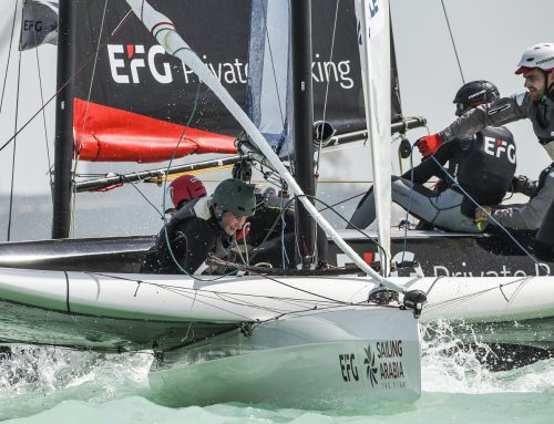 Showdown in Salalah looms after EFG Sailing Arabia – The Tour's close encounters of the Duqm kind