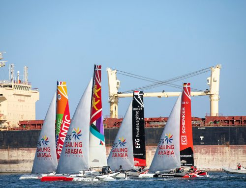 COMPETITON TIGHT AFTER SECOND STAGE OF EFG SAILING ARABIA – THE TOUR